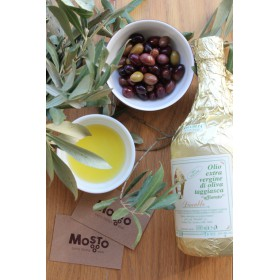 Dino Abbo - Huile d'Olive Extra vierge - Olive Taggiasca - Affiorato