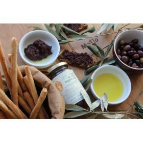 Patè di olive Taggiasche - Tapenade d'olive Taggiascha - Ligurie - Dino Abbo - Mosto