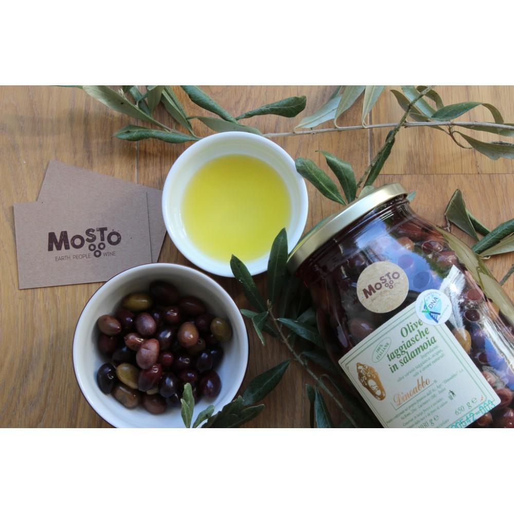 Olive Taggiasche in salamoia - Olive Taggiasca - Ligurie - Dino Abbo - Mosto